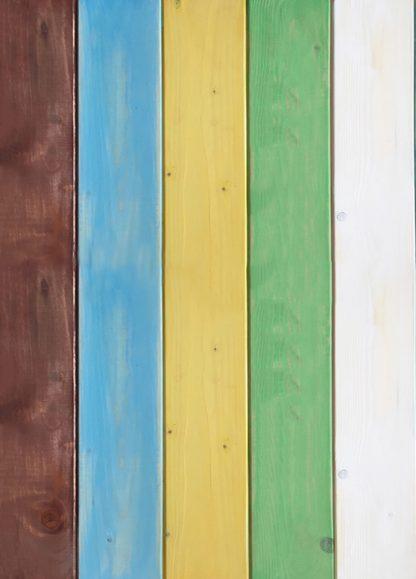 Colori di Puglia - Sfondo fotografico in legno a doghe