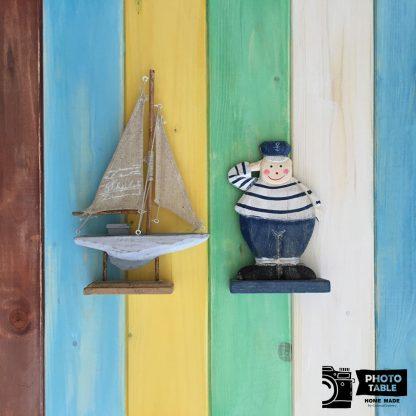 Colori di Puglia - Sfondo fotografico esclusivo Photo Table Home Made