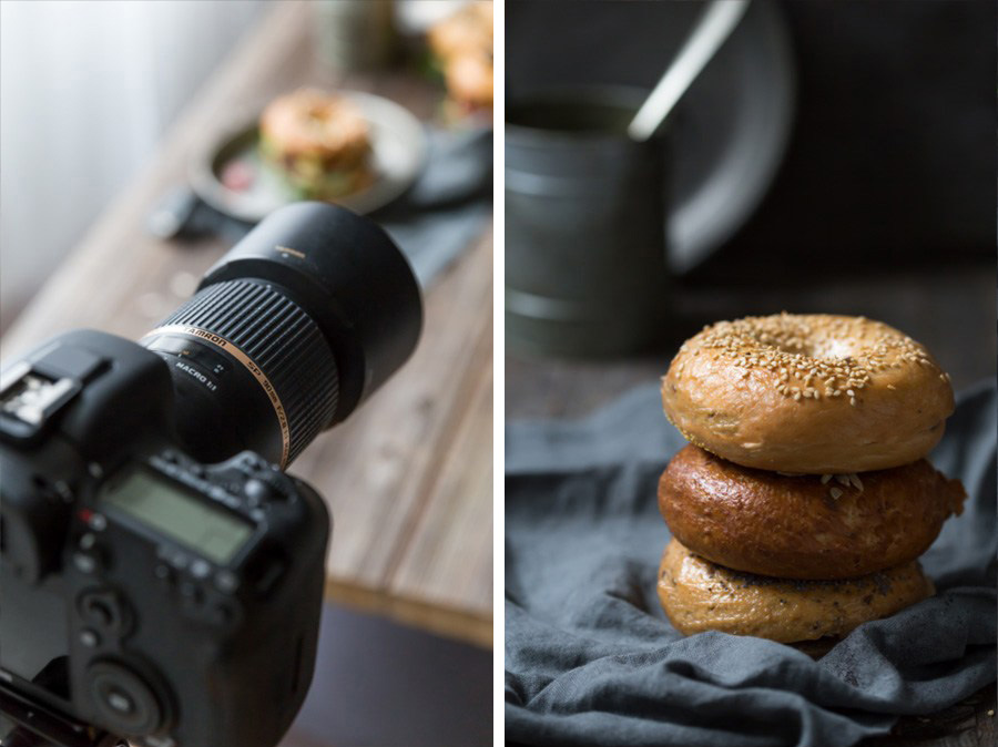 tavole in legno lamellare con doghe per food bloggers