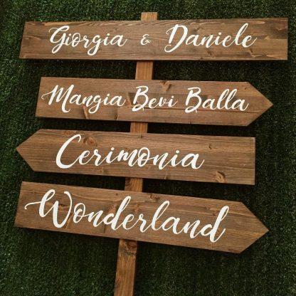 Giorgia e Daniele frecce wedding - sposi 2019